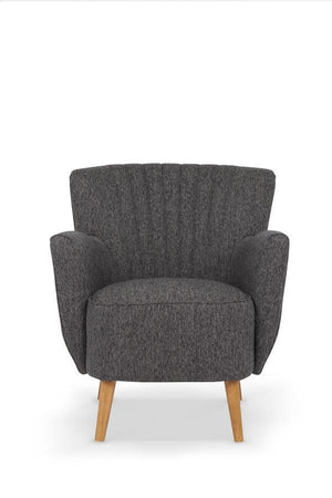 Serene Furnishings Occasional Chair Alloa Occasional Chair Charcoal By Serene Furnishings