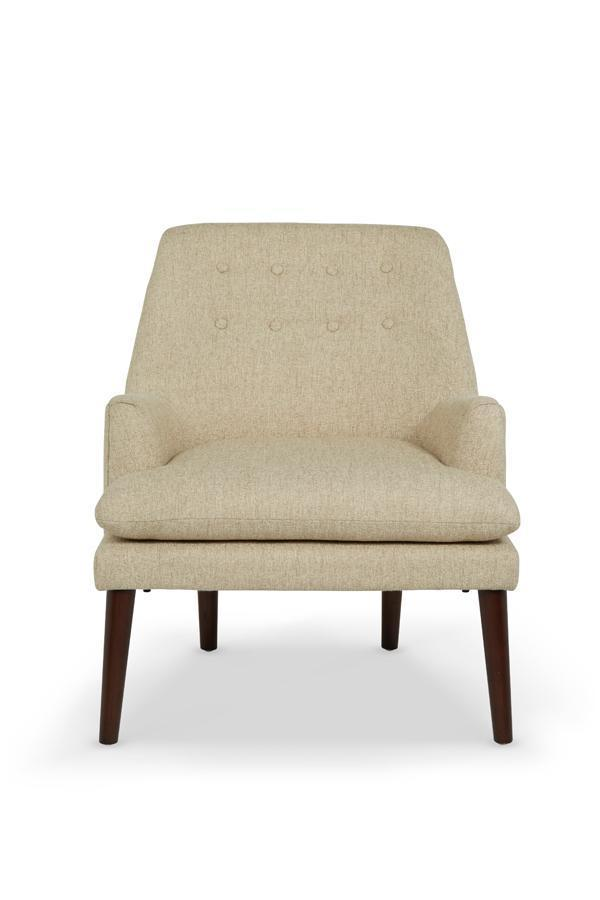 Serene Furnishings Occasional Chair Falkirk Occasional Chair Mink By Serene Furnishings