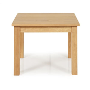 Serene Furnishings Occasional & Side Table Leyton Oak Square Lamp Table By Serene Furnishings