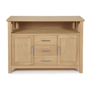 Serene Furnishings Sideboard Leyton Oak 2 Door 3 Drawer Sideboard By Serene Furnishings