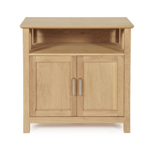 Serene Furnishings Sideboard Leyton Oak 2 Door Sideboard By Serene Furnishings