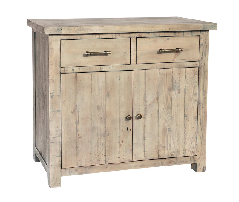 Seville Furniture Sideboard Small Fowey Reclaimed Pine Driftwood Sideboard