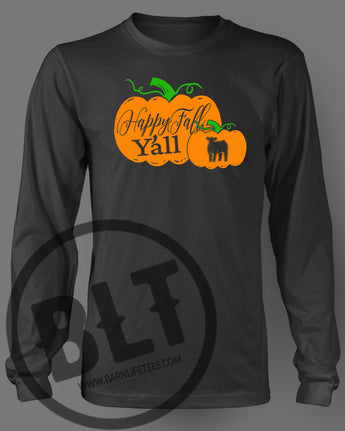 2017 Fall Pumpkin Long Sleeve Tee