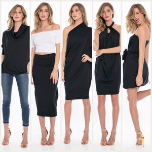 LUXE Black Capsule Dress