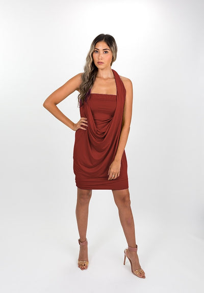 Red Clay Modal Capsule Dress