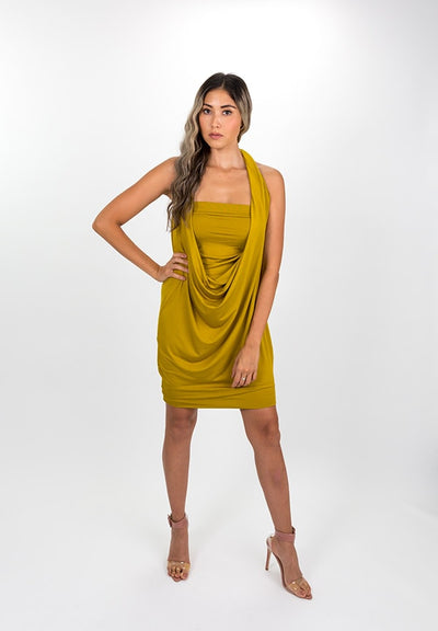 Saffron Modal Capsule Dress