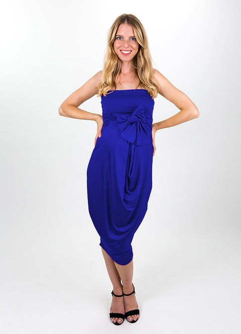 Lapis Blue Modal Capsule Dress