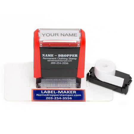 NAME-DROPPER™ Marking Kit - Name-Dropper Stamp & Laundry Marker