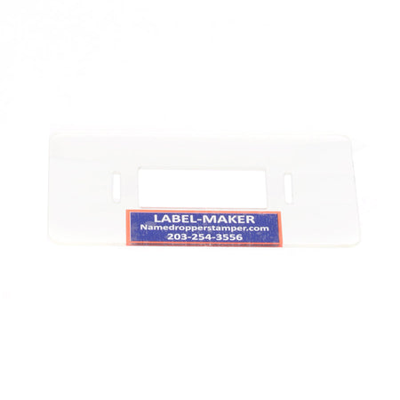 PLACE-HOLDER & LABEL-MAKER COMBO TOOL - Name-Dropper Stamp & Laundry Marker