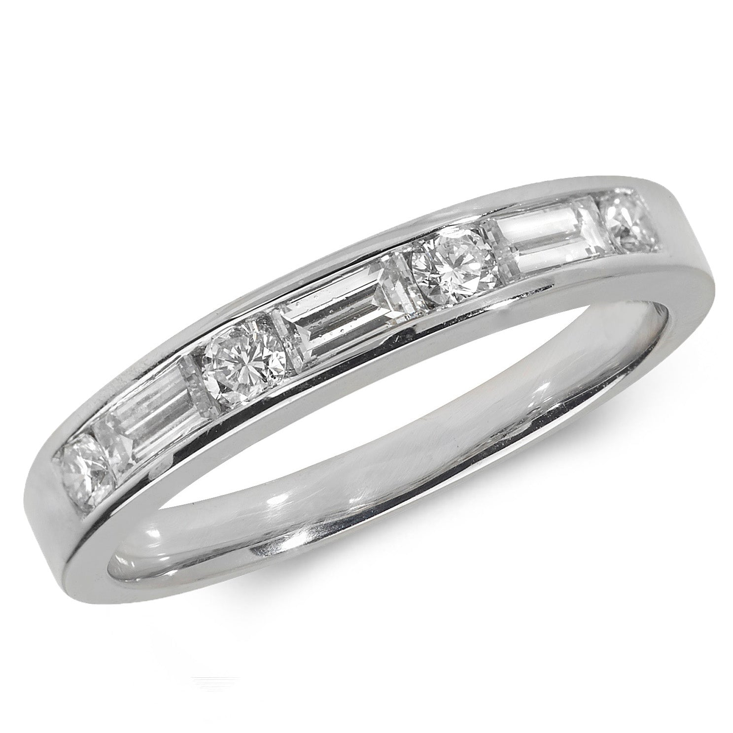 jewellers round and baguette diamond rings brilliant ring gold products campbell white eternity ireland jewellery dublin engagement