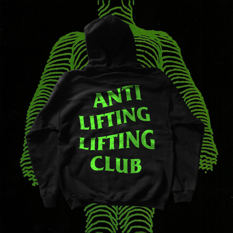 Anti Lifting Lifting Club Hoodie - CYBER GREEN (Limited Pre-Order)