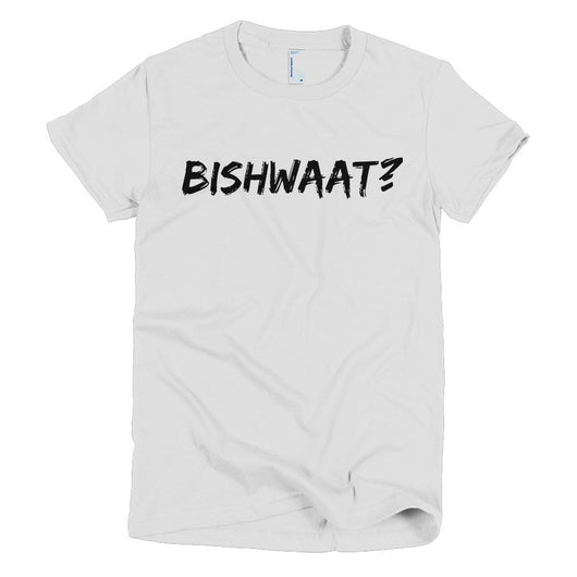BISHWAAT? Short sleeve women's t-shirt