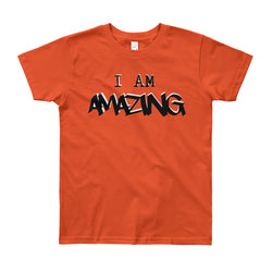 AMAZING Boys Short Sleeve T-Shirt