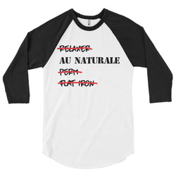 AU NATURAL 3/4 sleeve shirt