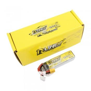 Tattu R-Line 550mAh 7.4V 95C 2S1P Lipo Battery Pack with XT30 Plug