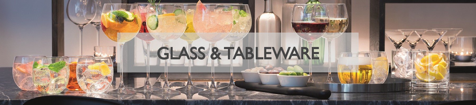 Modern Quests Living Glass Tableware Collection
