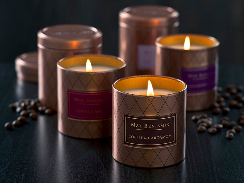 Max Benjamin Coffee Candles Modern Quests