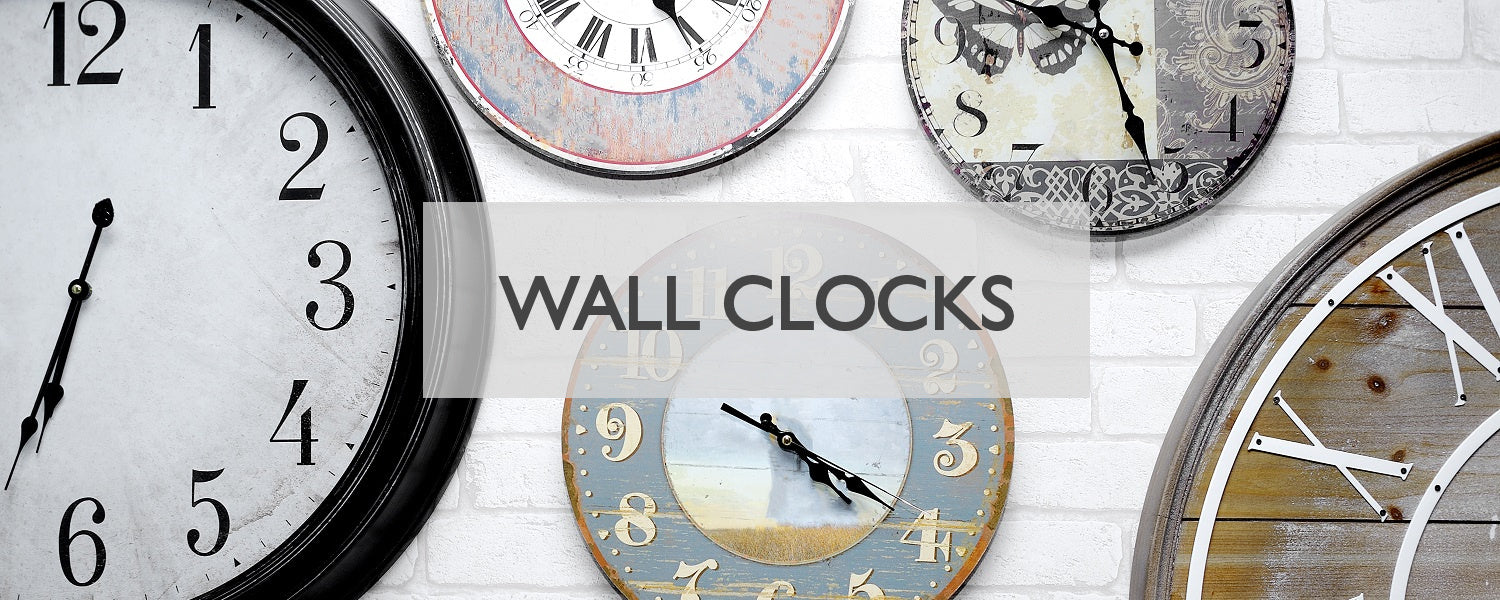 Modern Quests Wall Clocks Collection