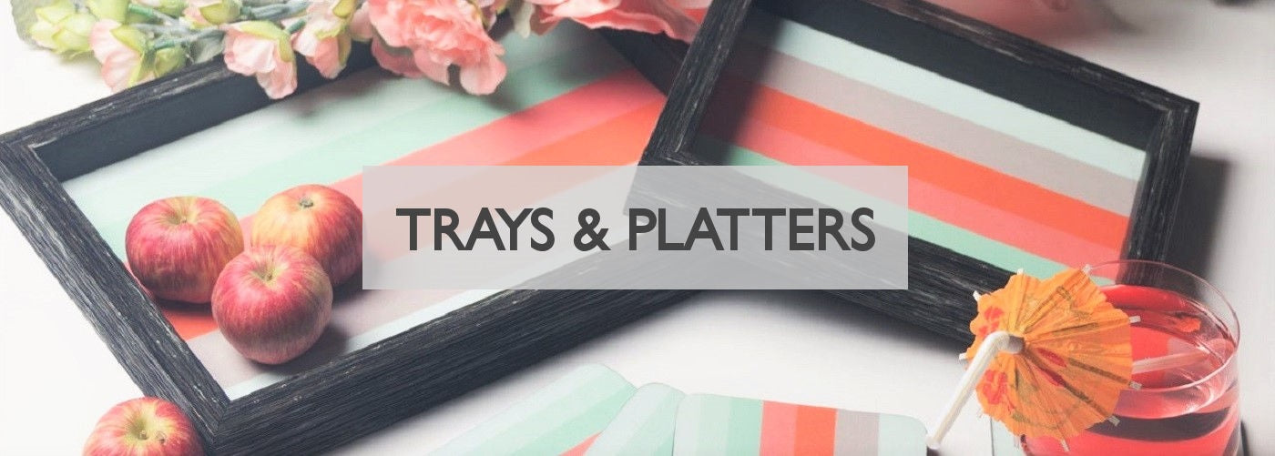 Modern Quests Trays Platters Collection