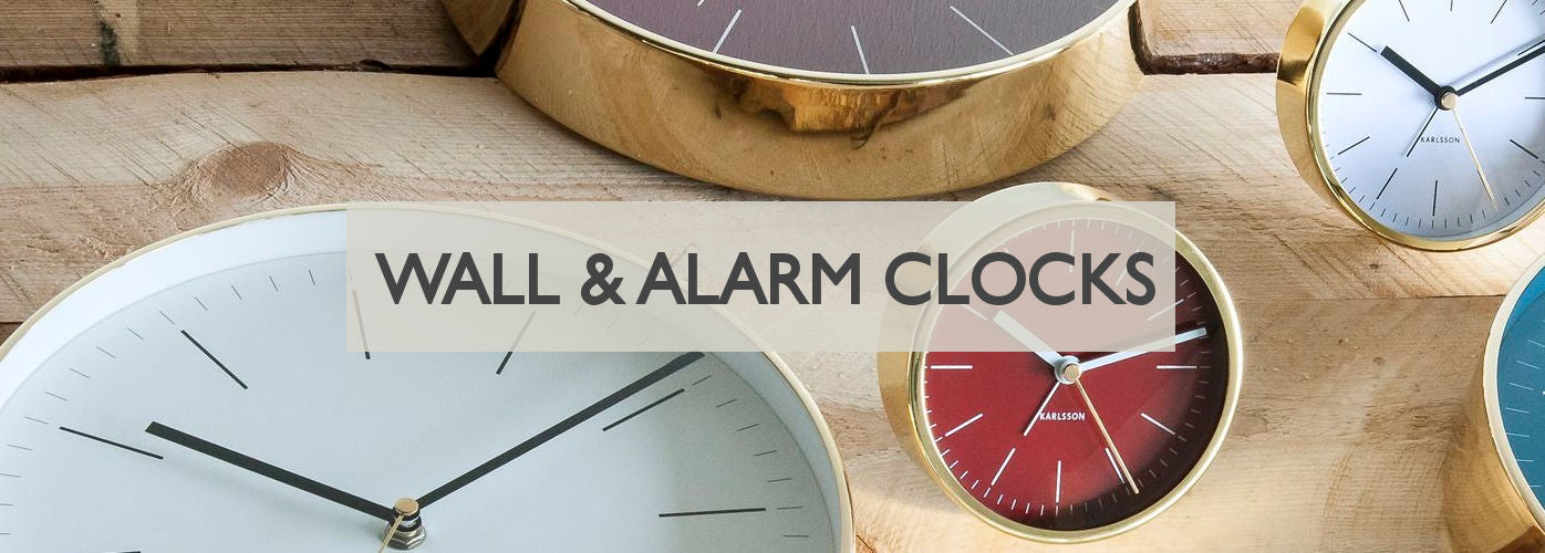 Wall and Alarm Clocks Modern Quests