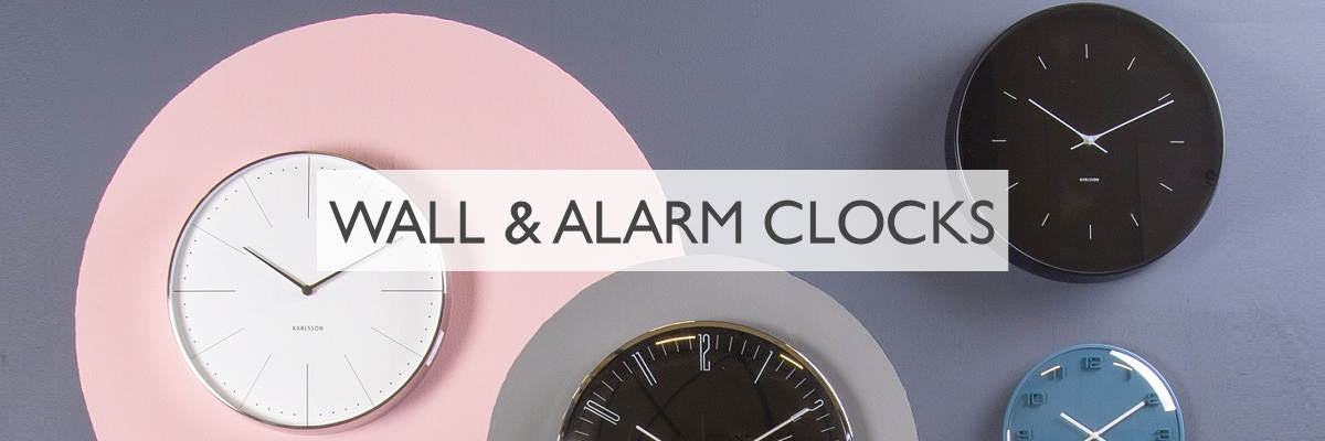 Modern Quests Wall and Alarm Clocks