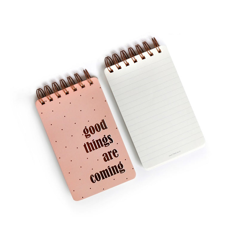 Wiro Notepads, Set of 2 - Good Things