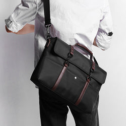Retro Laptop Bag - Jet Black - 15.6 inch