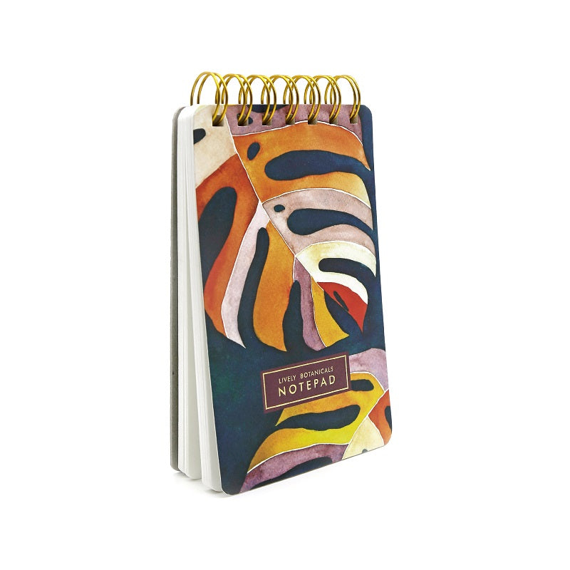 Botanical Notepads, Set of 2 - Monsoon