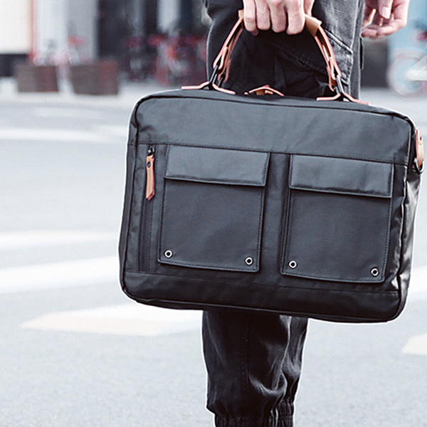 Informal Laptop Bag - Charcoal Black