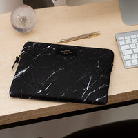 Black Marble Laptop Sleeve 13inch