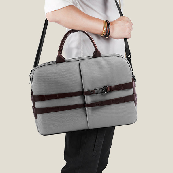 The Fortunate Laptop Bag - Matt Grey