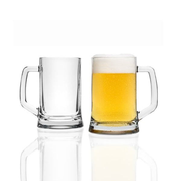 Skol Beer Mugs, Set of 2
