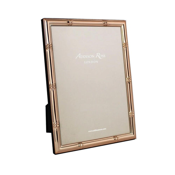 Bamboo Rose Gold Photo Frame - 5x7