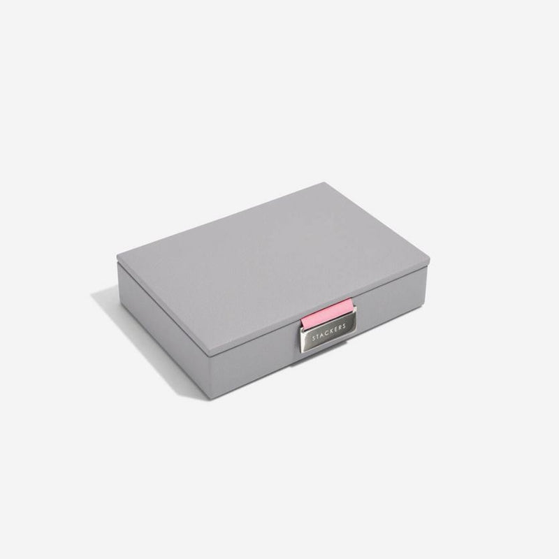 Jewellery Box with Lid Small - Grey Rose