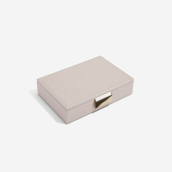 Jewellery Box with Lid Small - Taupe