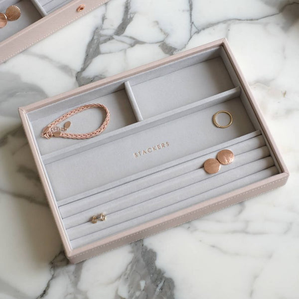 Ring & Bracelet Storage Box - Blush Pink
