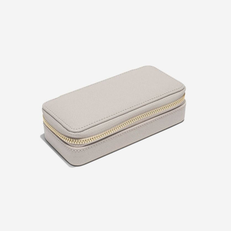 Travel Jewellery Pouch Medium - Taupe