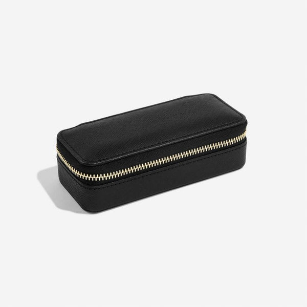 Travel Jewellery Pouch Medium - Black