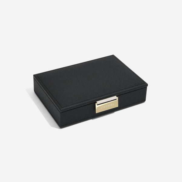Jewellery Box with Lid Small - Black