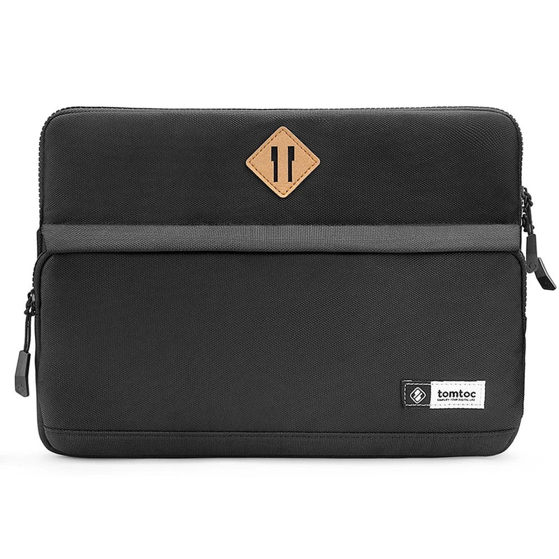 Casual Laptop Sleeve - Black 13 to 13.3 Inch