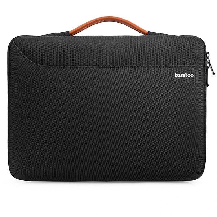 Surface Zipper Briefcase - Black 13 to 13.5 Inch
