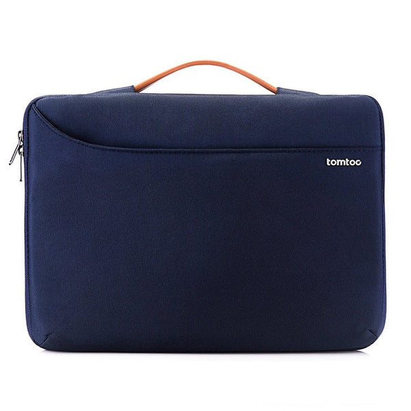 Surface Zipper Briefcase - Navy 14 to 15 Inch