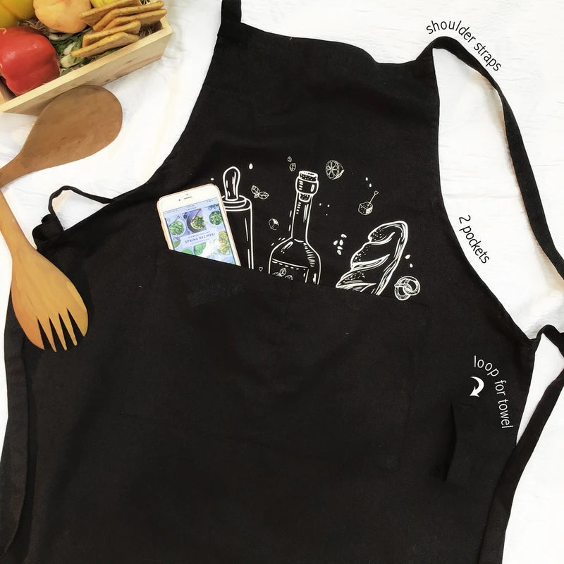 Kitchen Apron - Breads and More