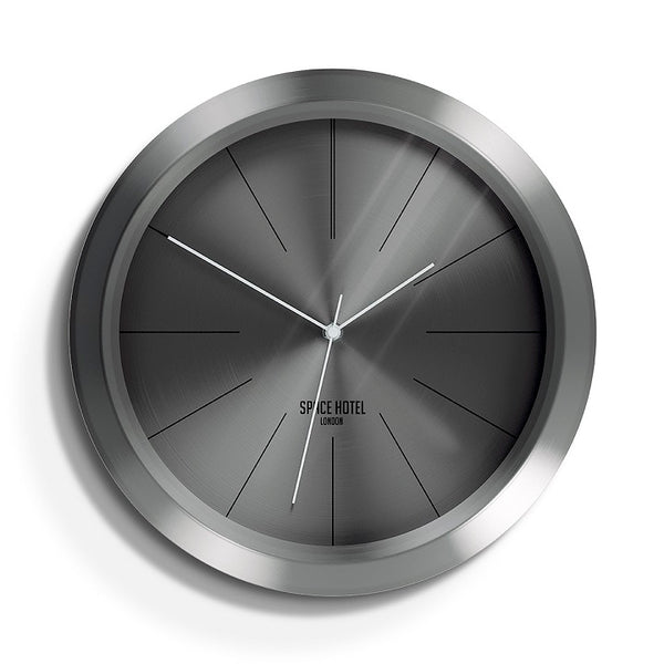 Ace Asteroid Wall Clock - Gunmetal