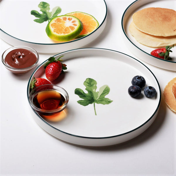 Nordic Porcelain Serving Plate - Acer