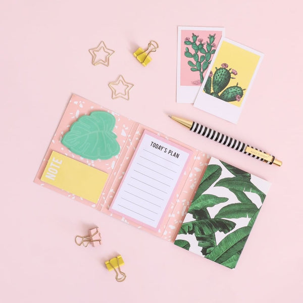Alice Scott Sticky Notes - Botanical