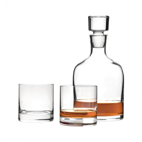 Ambrogio 3 Piece Whiskey Set