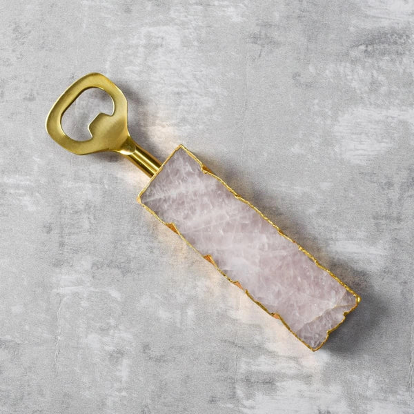 Amora Rose Quartz Bottle Opener