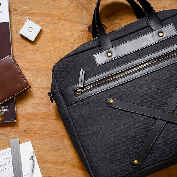 The Arrival Laptop Workbag - Charcoal