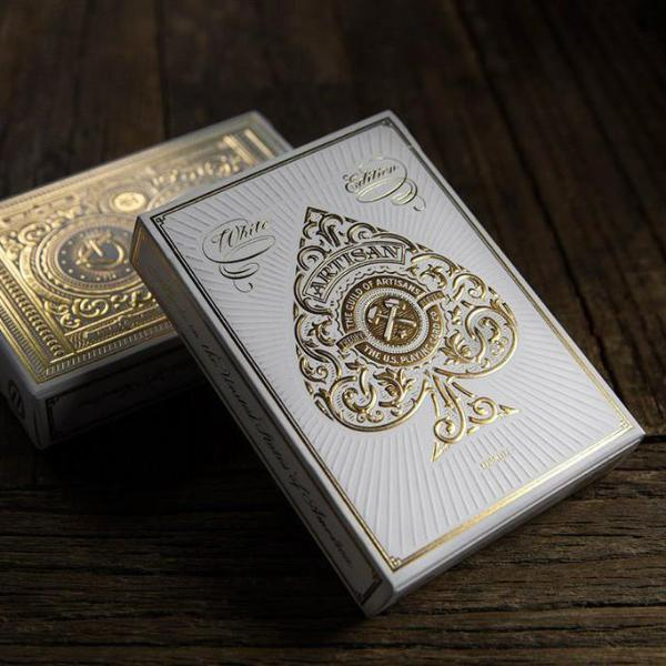 Artisan White Playing Cards - Modern Quests